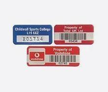 Buy Asset Labels & Tags Printed On Vinyl, Metal, Polypropylene