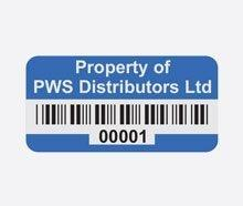 buy asset labels tags printed on vinyl metal polypropylene