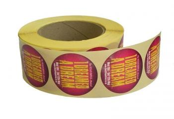 Self Adhesive Labels On A Roll