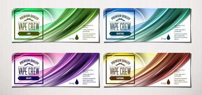 Mockup E Liquid Labels