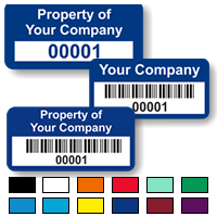 Budget Asset Labels